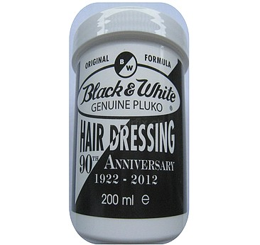 Black and White Genuine Pluko Hair Dressing
